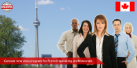 Canada New Visa Program For French - Speaking Professionals